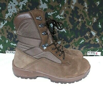 $56.72 • Buy New Brown Military Boots YDS Falcon Suede Fabric Surplus Combat Boots - 13 M