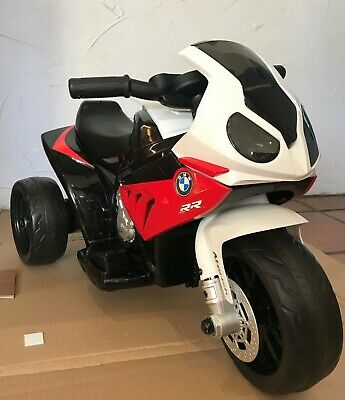 Battery Powered BMW Motorcycle Trike Kids Ride On Bike With Horn • 19.50£