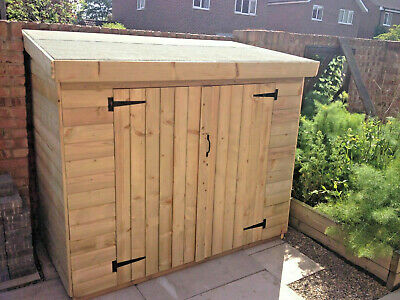Garden Wooden Shed Tool Storage Bike Store 16mm Loglap Tanalised T&G Treated • 320£