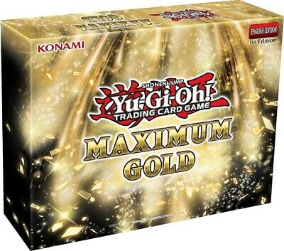 YuGiOh Maximum Gold MAGO 1st Edition Gold-Letter Rares Choose From List • 0.99£