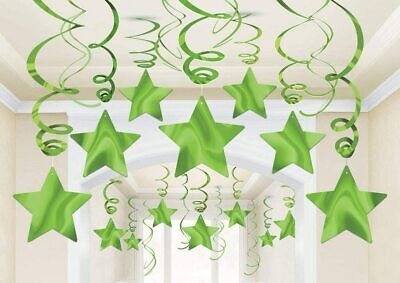 £6.15 • Buy Green Shooting Star Hanging Decoration New Year Eve Party Supplies Wedding Decor