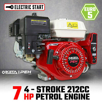 AU209 • Buy 7HP OHV Petrol Engine Stationary Motor Electric Start 6.5 7.5hp Replacement