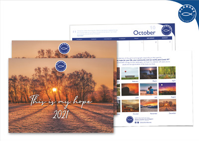 2021 Charity Calendar - This Is My Hope • 9.99£