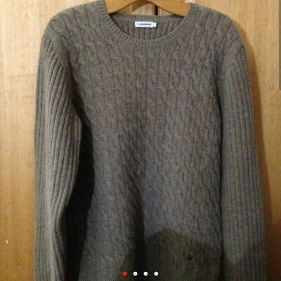 J Lindeberg Lambswool Jumper Large • 30£