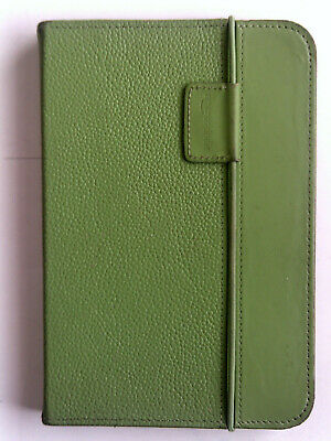 Amazon Kindle Keyboard Green Leather Lighted Cover Case • 17.99£