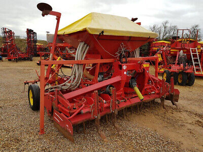 £8250 • Buy LELY 3 Metre Combination 2012 Power Harrow 300-55 With Polymat Airseeder