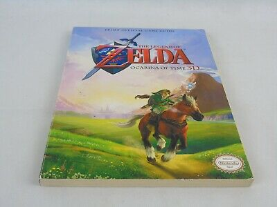 The Legend Of Zelda Ocarina Of Time 3D Strategy Guide • 24.99£
