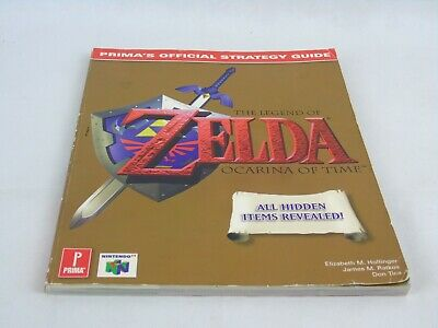 The Legend Of Zelda Ocarina Of Time Strategy Guide • 37.99£