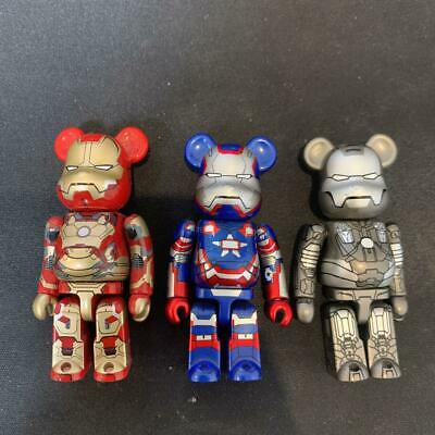 $311.87 • Buy Limit Marvel Bearbrick Be Rbrick Ironman
