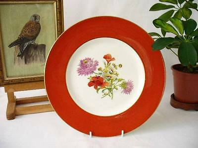Signed Minton Cabinet Plate / Hand Decorated Plate /  Artist -  J. Colclough • 49.99£