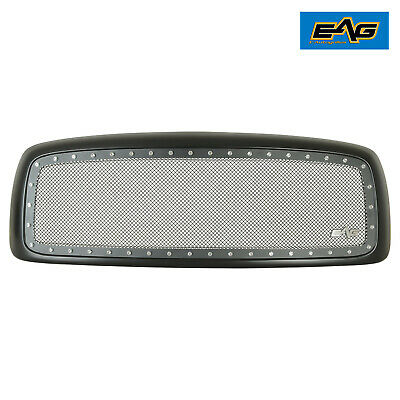 $199.50 • Buy EAG Chrome Rivet Mesh Replacement Grille Fits 02-05 Dodge Ram 1500/ 2500/ 3500