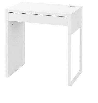 Ikea MICKE Student Desk  Computer Table Workstation White 73x50 Cm • 56.07£