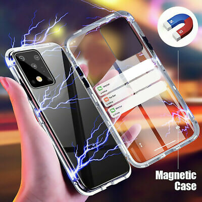 $ CDN11.66 • Buy 360° Full Protect Magnetic Metal Frame Double Sided Glass Slim Phone Case Cover