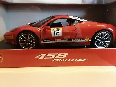 1:18 Ferrari 458 Challenge Race Car #12, Mattel Hot Wheels. • 79.99£