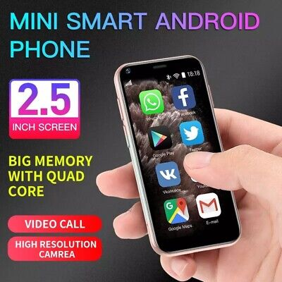 AU126.93 • Buy World Smallest 4G 2 SIM Touch Screen Unlocked MINI Mobile Smart Phone Android