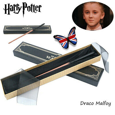 Draco Malfoy Cosplay Wands Harry Potter Magical Wand Xmas Metal Core Boxed Toys • 10.99£