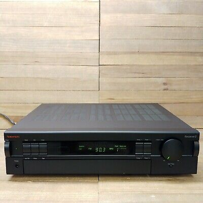 $199.95 • Buy Vintage Nakamichi Receiver 2 AM/FM Stereo Receiver Tested Working Taiwan Black