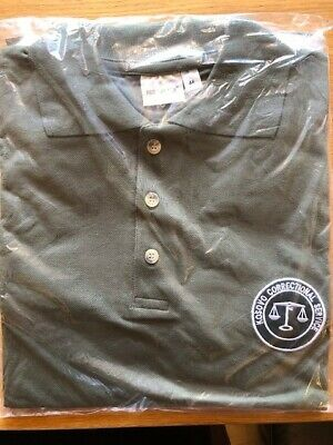 Kosovo Correctional Service Prison Officers Polo Shirt- Obsolete, New, Size 44 • 11.50£
