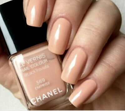 Chanel Le Vernis Nail Colour / Nail Polish In 659 & 625 Beige Pur & Secret Used • 15£