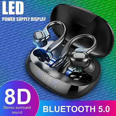 $ CDN25.05 • Buy TWS Bluetooth 5.0 Headset  Wireless Earbuds Earphones Stereo Headphones Ear Hook