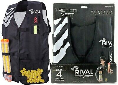 AU46.55 • Buy Nerf Rival Phantom Tactical Vest Ages 14+ Toy Blaster Gun Magazine Rounds Fight