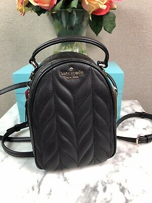 $ CDN141.28 • Buy NWT Kate Spade Black Briar Lane Quilted Mini Backpack Bag