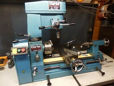 View Details Clarke Cl500m  Lathe Mill Drill  Clean ! • 931.00£