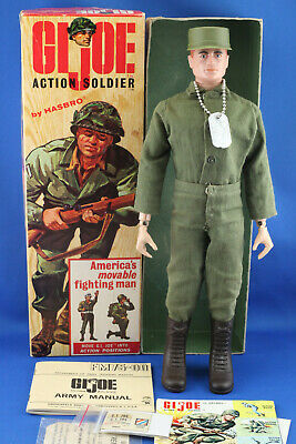 $ CDN726.68 • Buy 1964 GI Joe EARLY ACTION SOLDIER #7500 3XTM BRASS RIVETS, RUBBER BOOTS & BOXED!