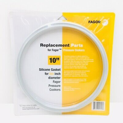 Genuine Fagor Pressure Cooker Silicone Gasket 10  998010441 Sealed NEW SEALED • 20.22£