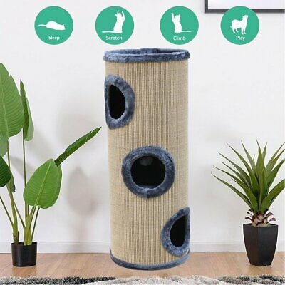 AU85.90 • Buy Cat Tree Trees Scratching Post Scratcher Tower Condo House 70cm 100CM