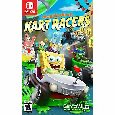 AU47 • Buy Nickelodeon Kart Racers Nintendo Switch Brand New Sealed