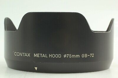 $ CDN164.57 • Buy [Exc+++++] Contax GB-72 Metal Hood For 645 Planar 80mm & 55mm Lens From JAPAN