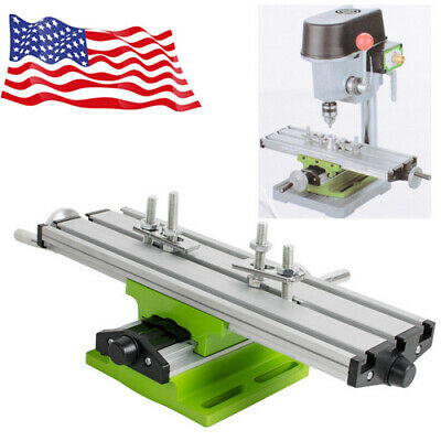 $42.99 • Buy Sale Milling Machine Cross Sliding Table Vise For DIY Lathe Bench Drill USA