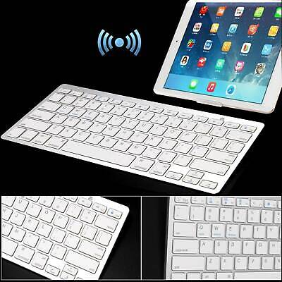 NEW Slim Wireless Bluetooth Keyboard For Apple IMac IPadAndroid Phone Tablet UK • 13.99£