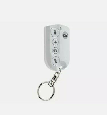 Yale YEFKF Alarms Easy Fit Remote Keyfob, White • 23.99£