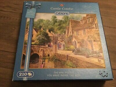 Castle Combe By Terry Harrison -  Mini Jigsaw Puzzle (210 Piece) Gibsons  • 10£