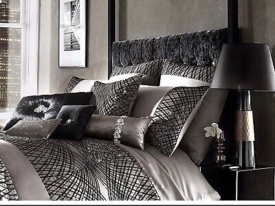 Stunning Kylie Esta Truffle Bed Set With Throw • 260£