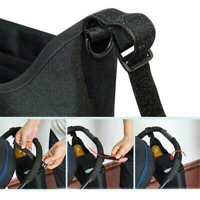 AU16.77 • Buy Accessories Hanging Baby Stroller Organizer Bag Travel Carriage Diaper Holder YS