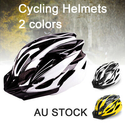 AU13.99 • Buy Bicycle Helmet Road Mountain Bike Adjustable Safety Shockproof Light Weight