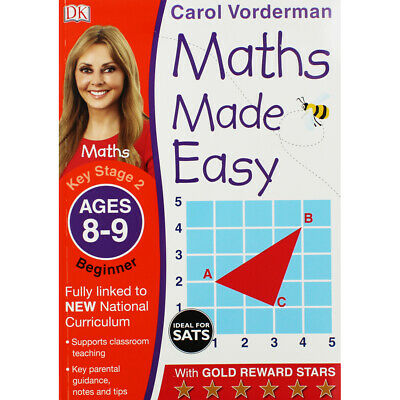 £5 • Buy Maths Made Easy: Ages 8-9 By Carol Vorderman (Paperback), Books, Brand New