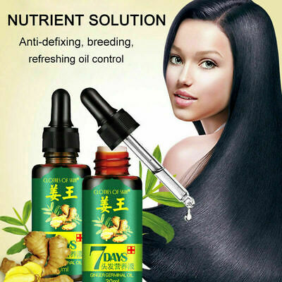 AU15.28 • Buy ReGrow 7 Day Ginger Germinal Hair Growth Serum Hairdressing Oil Loss -Brand G1~#