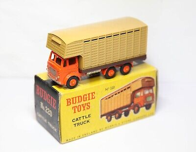 £71.20 • Buy Budgie 220 Leyland Hippo Cattle Truck In Its Original Box - Near Mint Vintage