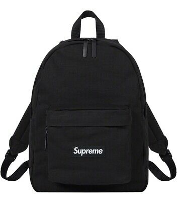 $ CDN200 • Buy Supreme Canvas Backpack Black FW20