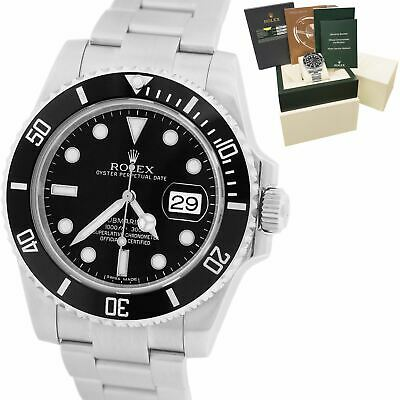 $ CDN14783.80 • Buy MINT Rolex Submariner Date 116610 LN Stainless Black Dive Ceramic 40mm Watch