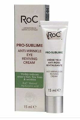 RoC Pro Sublime Anti Wrinkle Reviving Eye Cream 15ml • 11.04£