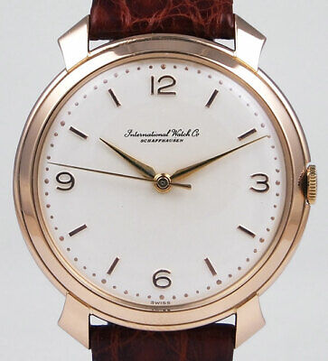 International Watch Company IWC 18K Pink Gold Calibre 89 - White Dial (1969) • 2,695£