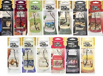 Yankee Candle Car Jar Car Van Jeep Office Home Air Freshener *Choice Of Scents* • 3.50£
