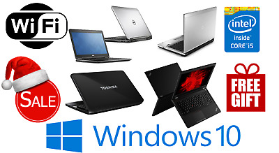 SALE FAST CHEAP WINDOWS 10 LAPTOP Core I5 4GB/8GB RAM SSD & HDD WiFi FREE GIFT • 164.99£