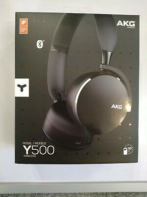 Akg Y500 Wireless Headphones Never Used Complete With All Accessories • 17.90£