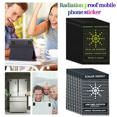 10x EMF Protection Quantum Scalar Anti Radiation Laptop Phone Mobile Sticker • 3.98£